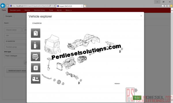 Renaul Impact Parts Catalog 11.2018 service manuals and parts catalog