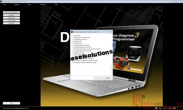 Scania Diagnostic y Programmer 3
