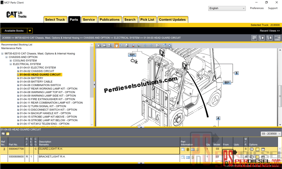 Cat Forklift Parts Manual Pdf