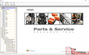 Crown Forklift service manuals 2019