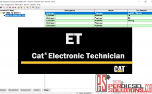ET Cat 2018C diagnostic software