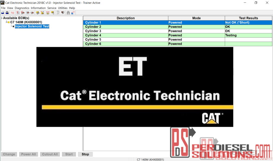 Caterpillar Electronic Technician 2018C Diagnostic Software