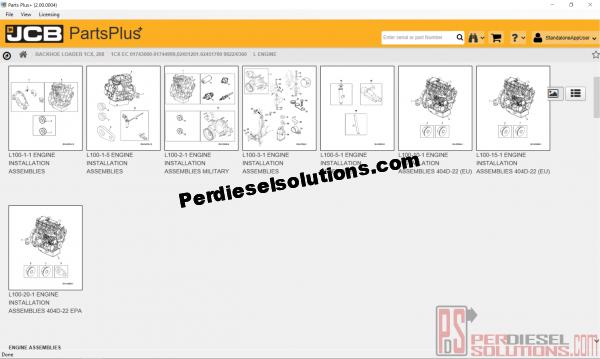 Jcb Parts Plus 2016 Electronic Parts Catalog