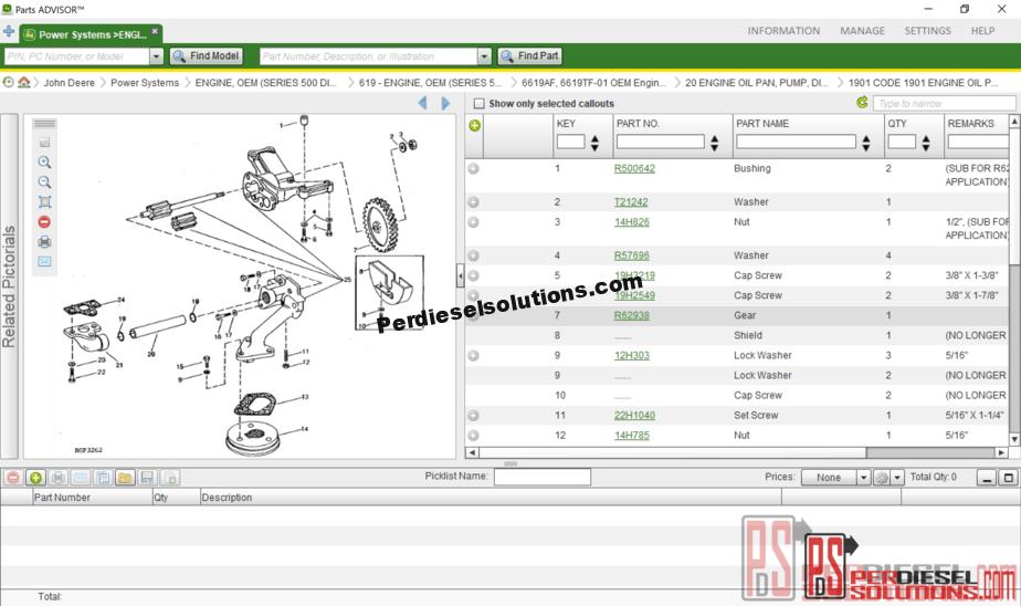 John Deere Parts Catalog >> John Deere Parts Advisor 11 2018 Spare Parts Catalog
