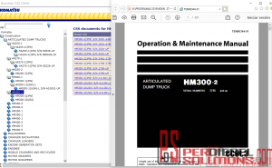Komatsu 07.2019 operation and maintenance manual