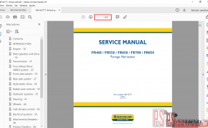 New Holland Service Manuals 2019