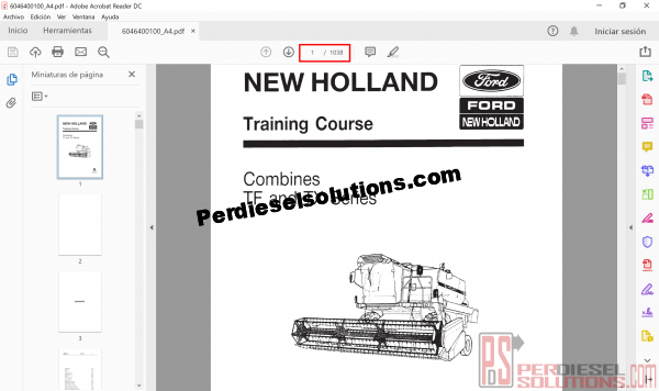 New Holland service manuals and diagrams