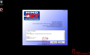 Software de diagnostico Hino
