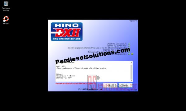 Software de diagnostico Hino