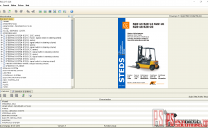 Still ForkLIft parts catalog