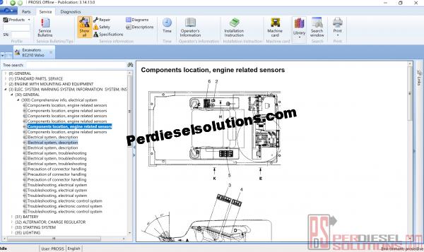Volvo Prosis 01.2018 Service manuals
