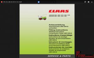Claas Repair manual