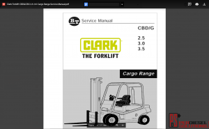 Clark Forklift Full Set Service Manual