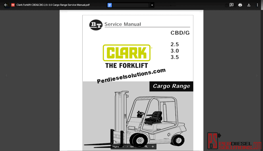 Clark Electric Forklift Wiring Diagram - Wiring Schematics