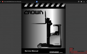 Crown Forklift truck Service manual