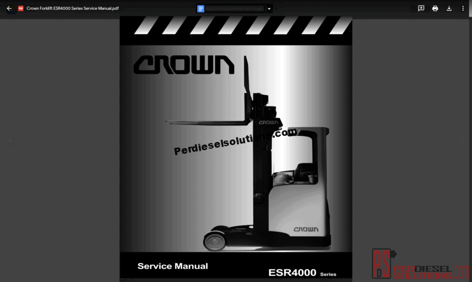 Crown Forklift Wiring Diagram - Electrical Wiring Diagram Guide