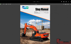 Doosan Shop Manual Full Set PDF