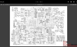 Doosan electric and hydraulic wiring diagrams