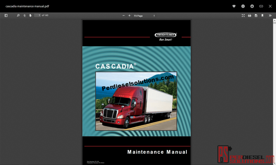 Freightliner Trucks All Models Full Set Manuals PDF