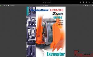 Hitachi Excavator ZX Series full Workshop Manual PDF
