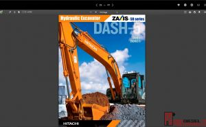 Hitachi Hydraulic Excavator ZX-5B Series full Workshop Manual PDF
