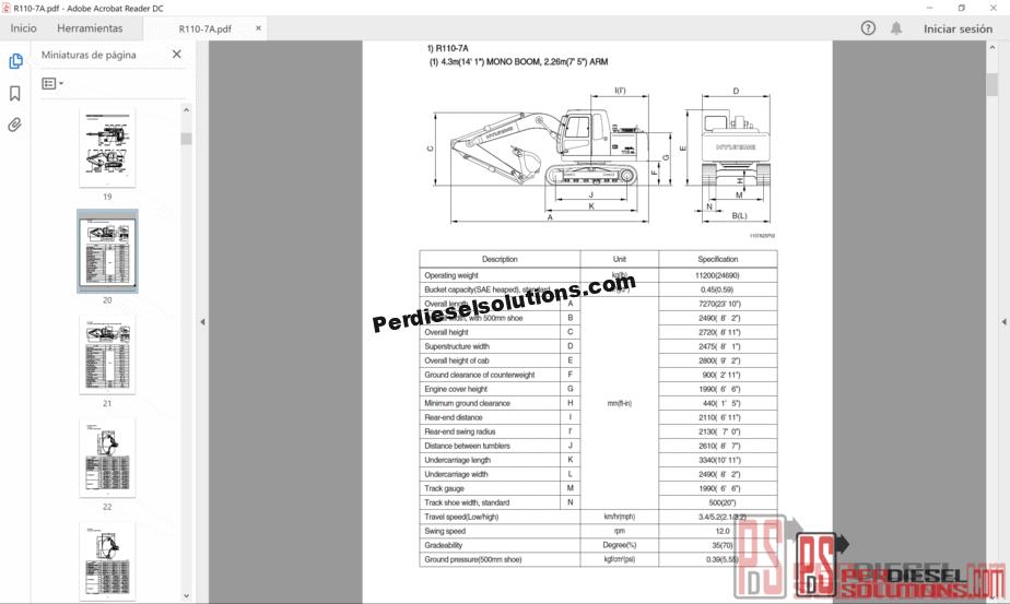 heavy equipment service manuals