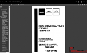 Isuzu comercial trucks W3500-W4500-W5500 Full