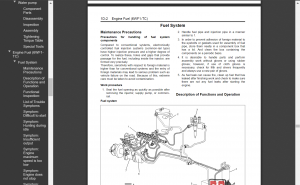 Isuzu workshop manual Engine 6WF1-TC Full