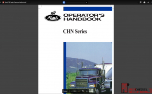 Mack Trucks Operators Manuals