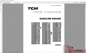 TCM Forklift Trucks Parts and Service Manual