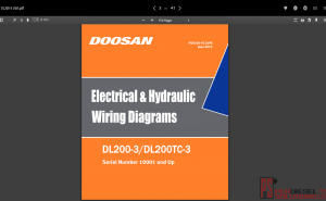 Wiring Diagrams Doosan