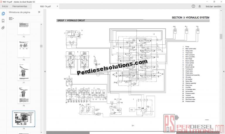 Hyundai Heavy Equipment CE Service Manual 2019 Full PDF