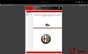 Alfa Romeo Workshop manual CD