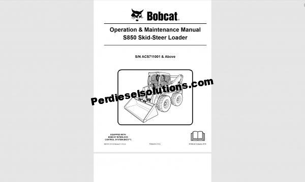 Bobcat Operations & maintenance Manual