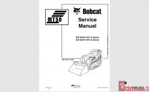 Bobcat Service Manual-operator manual & wiring diagram