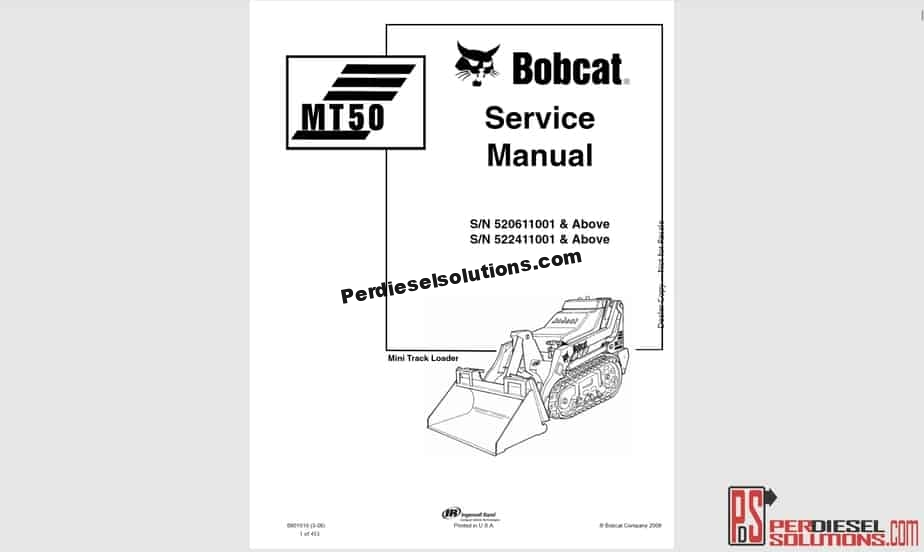 [ZTBE_9966]  Bobcat Service Manual - Operators Manual & Wiring Diagrams -  PerDieselSolutions | T180 Bobcat Wire Diagram |  | PerDieselSolutions
