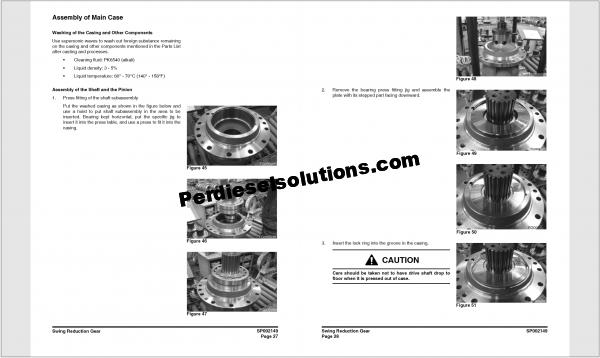 Doosan Crawler Excavator DX700LC Parts Manual
