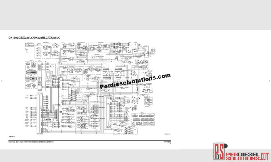 Doosan Shop Manual & Wiring Diagram Full Set All Models PDF -  PerDieselSolutionsPerDieselSolutions