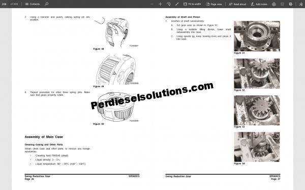 Doosan Shop manual DX235NLC Crawler Excavator