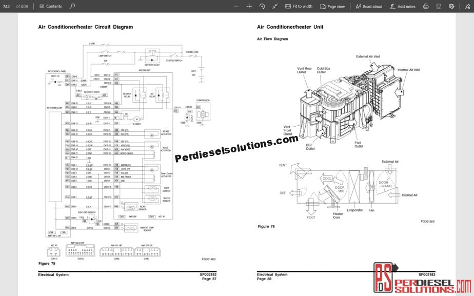 Doosan Crawler Excavator Dx235nlc Shop Manual 950106-00303