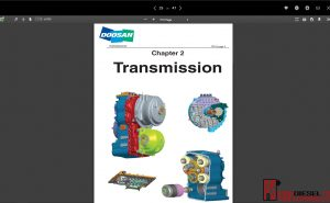 Doosan shop manual, service manual and wiring diagram all models full pdf