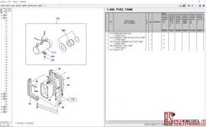 Isuzu CSS EPC 04.2019 parts catalog