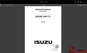 Isuzu WorkShop & service Manual all models