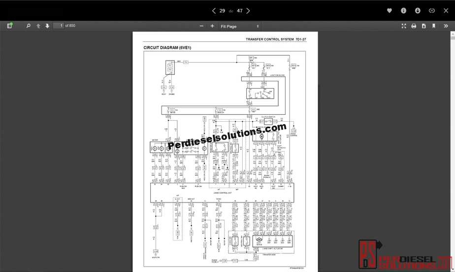 isuzu workshop_service manual all models & circuit diagram