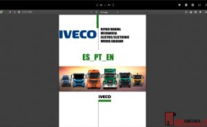 Iveco Trucks Workshop manual 2018 full pdf