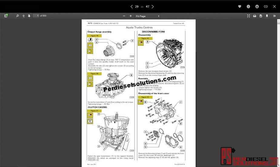 Iveco Trucks 2018 Workshop Manual Full Pdf