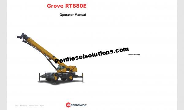 Manitowoc Grove Full operator manual pdf