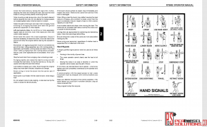 Manitowoc Grove operator manual complete