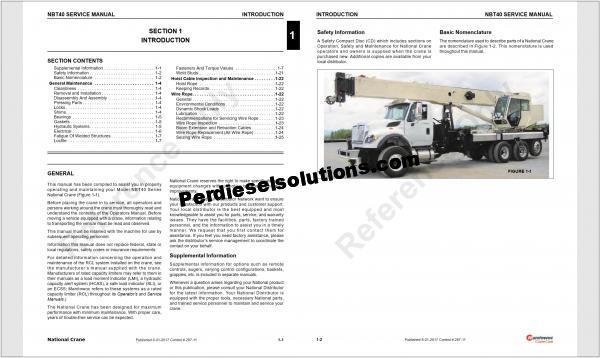 Manitowoc International Crane full Service Manual