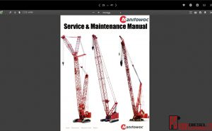 Manitowoc Service & Maintenance Manual pdf
